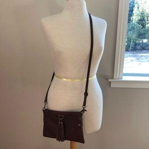 Vera Pelle Made in Italy crossbody bag.
